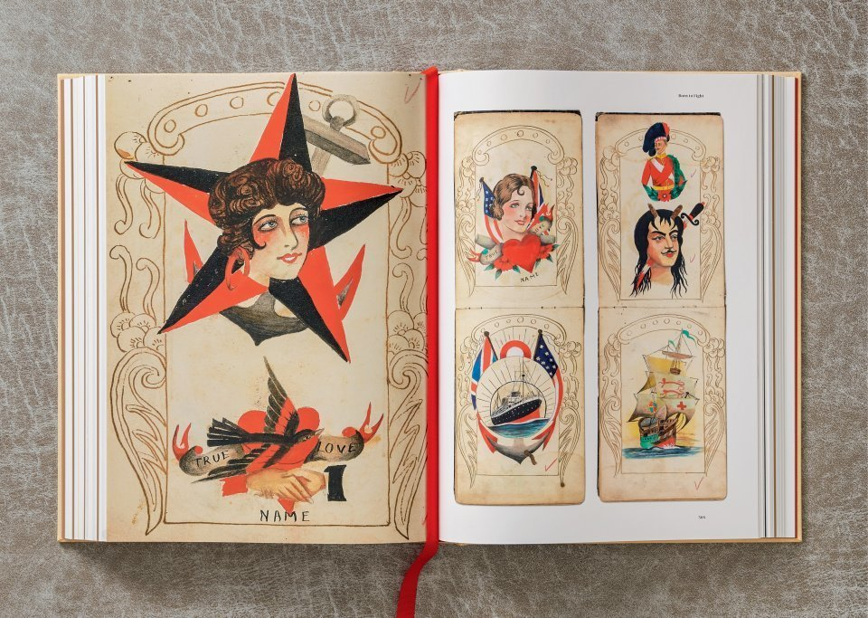 A História da Tatuagem (1730-1970) Documentada por Henk Schiffmacher Artes & contextos tattoo11