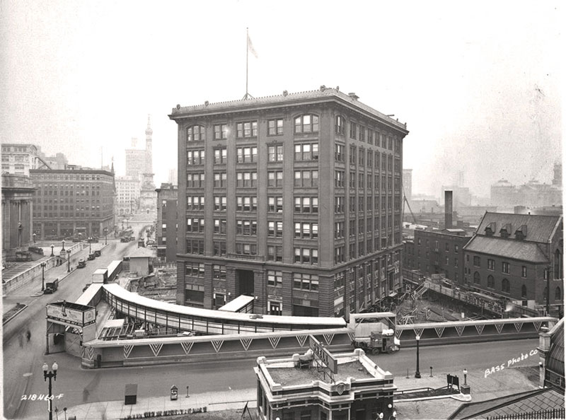 When the Indiana Bell Building Was Rotated 90° While Everyone Worked Inside in 1930 (by Kurt Vonnegut's Architect Dad)