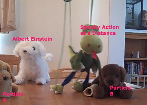 The Bohr-Einstein Debates, Reenacted With Dog Puppets