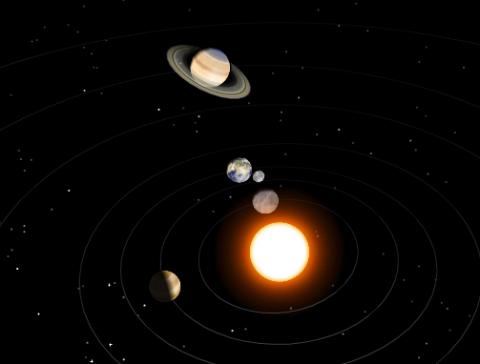 The Solar System  The Solar System Quiz  Softschoolscom