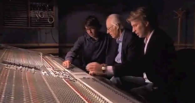 """The Lost Guitar Solo for """"Here Comes the Sun"""" by George Harrison, Discovered by George Martin"""
