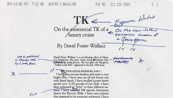 30 Free Essays Stories By David Foster Wallace On The Web Open