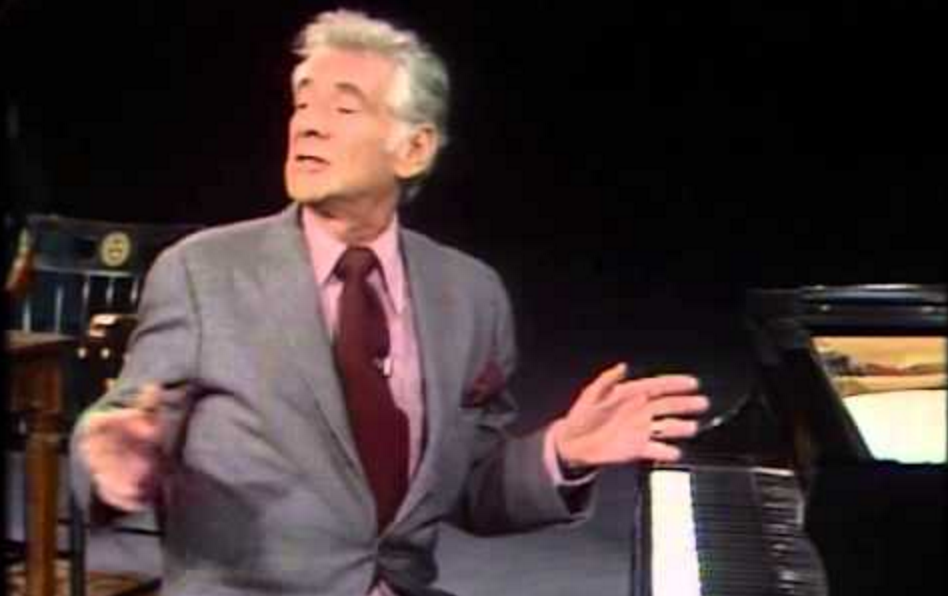 Leonard Bernstein's Masterful Lectures on Music (11+ Hours of Video Recorded at Harvard in 1973)