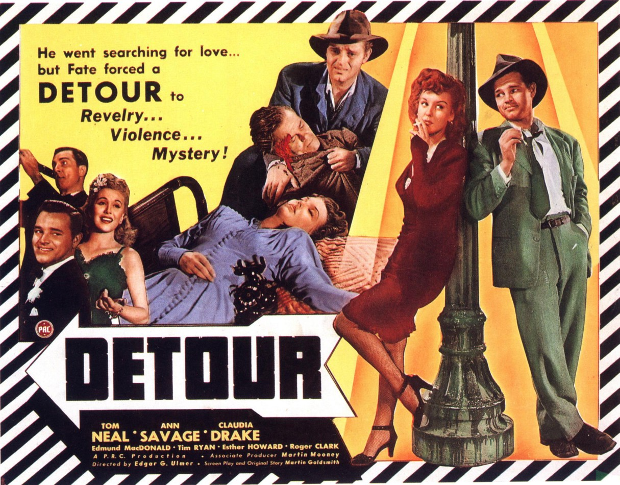 Detour: The Cheap, Rushed Piece of 1940s Film Noir Nobody Ever Forgets