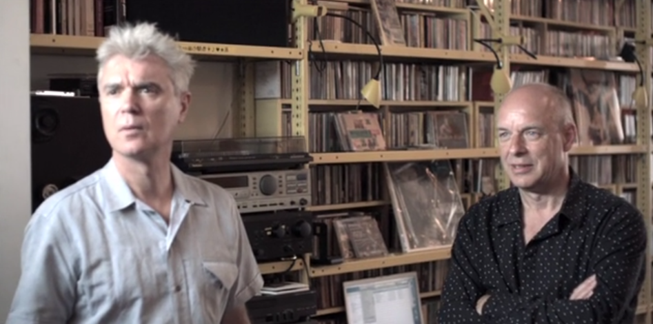 How David Byrne and Brian Eno Make Music Together: A Short Documentary