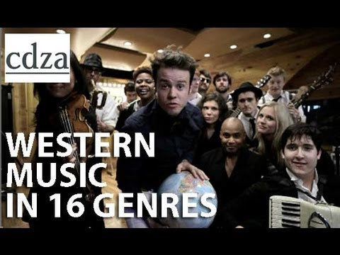popular music genres in the 20th century