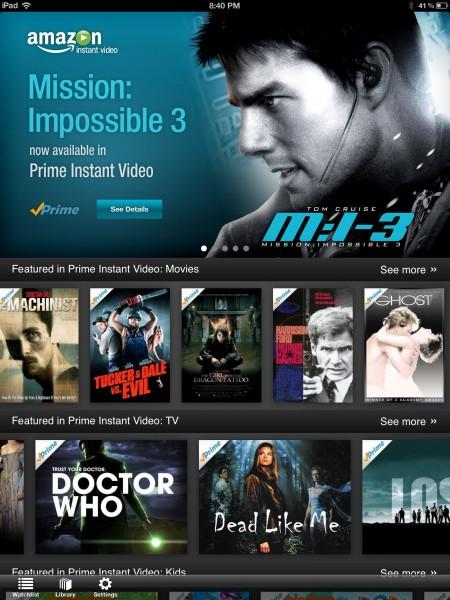 open prime video