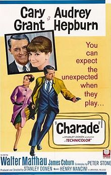 Charade, the Best Hitchcock Film Hitchcock Never Made. Stars Cary Grant & Audrey Hepburn