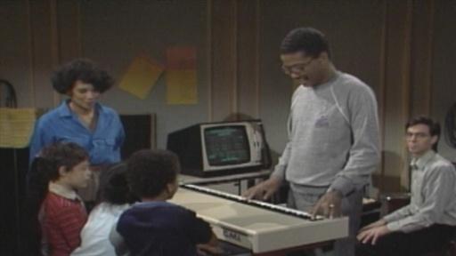 Watch Herbie Hancock Demo a Fairlight CMI Synthesizer on Sesame Street (1983)