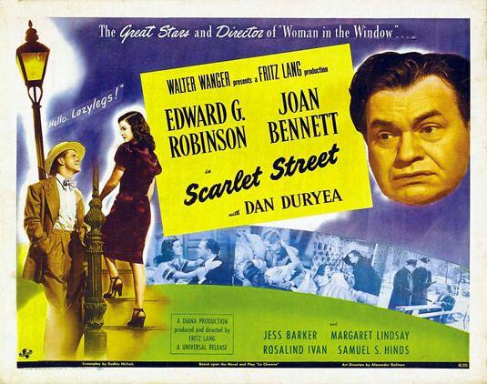 Watch Scarlet Street, Fritz Lang's Censored Noir Film, Starring the Great Edward G. Robinson (1945)
