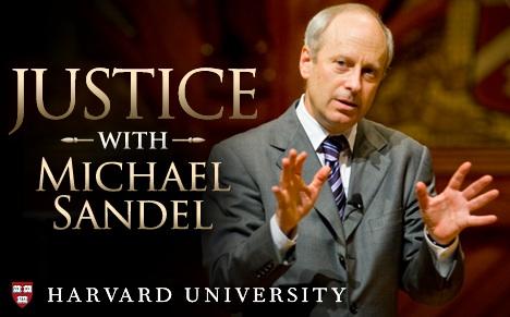 michael sandel justice に対する画像結果