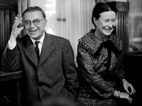 Lovers and Philosophers — Jean-Paul Sartre & Simone de Beauvoir Together in 1967