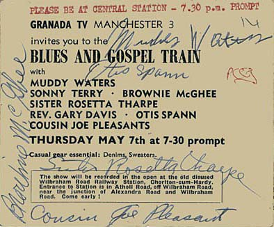 Blues and Gospel Train