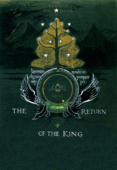 The Return Of The King Book Cover by JRR Tolkien_1-480