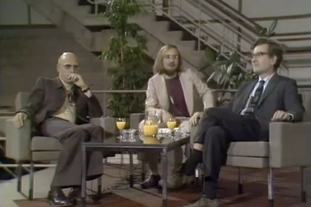 Clash of the Titans: Noam Chomsky & Michel Foucault Debate Human Nature & Power on Dutch TV, 1971