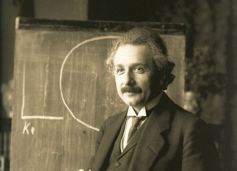 einsteing common langauge of science