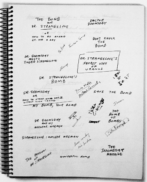 Kubrick notebook