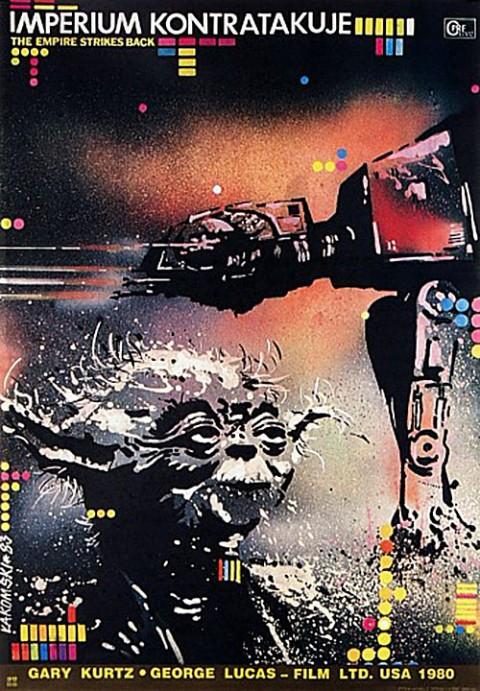Polish-Movie-Posters-The-Empire-Strikes-Back