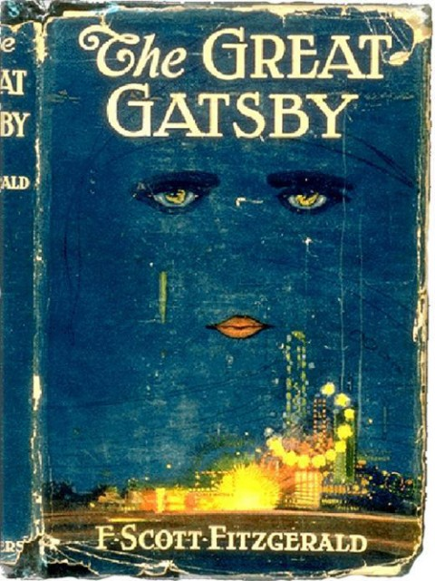 Image result for the great gatsby cover art