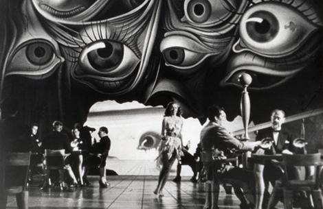 Salvador Dal Creates A Dream Sequence For Spellbound Hitchcocks