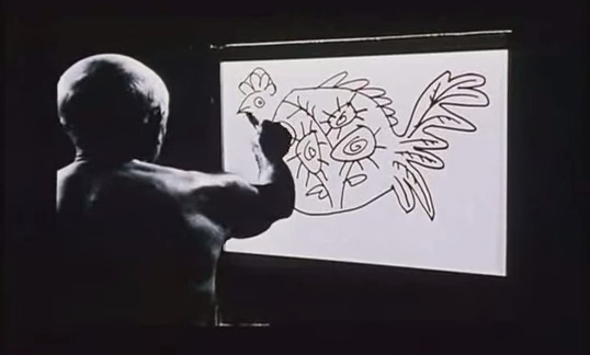 Watch Picasso Create Entire Paintings in Magnificent Time-Lapse Film (1956)