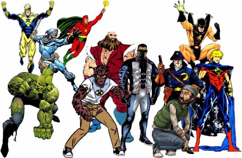 The Religious Affiliation of Comic Book Heroes