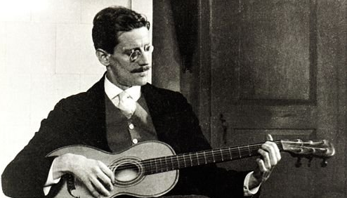 James Joyce Reads a Passage From Ulysses, 1924