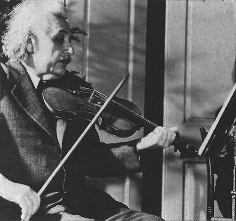 The Musical Mind of Albert Einstein:  Great Physicist, Amateur Violinist  and Devotee of Mozart