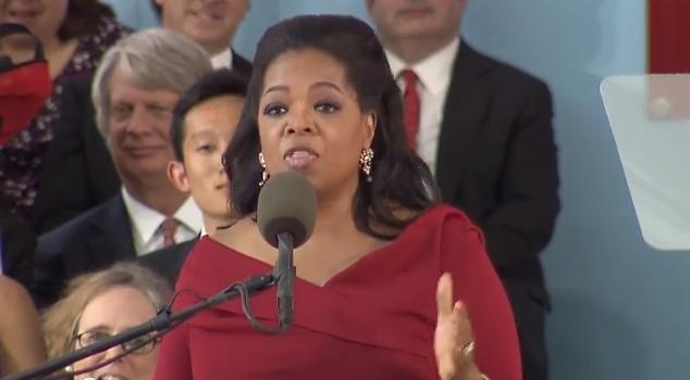 oprah winfrey commencement speech