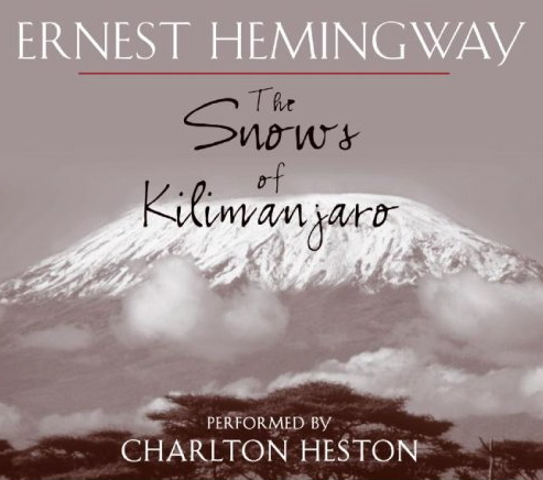 "hemingways the snows of kilimanjaro and The snows of kilimanjaro ernest hemingway in ""the snows of kilimanjaro,"" the matters that trouble harry are made clear to the reader the narrator."