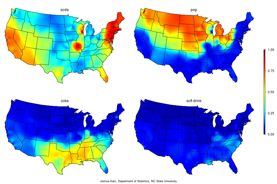pecan pronunciation map with 122 Heatmaps Visualize Linguistic Trends In America on Pop Vs Soda Map likewise Dialect Maps Americans Speak Differently Country moreover How Do You Say Pecan Mapping Food Dialect Trends Across The U S furthermore How Do You Say Pecan Mapping Food Dialect Trends Across The U S likewise 49494115.