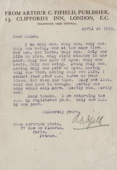 stein-rejection-letter