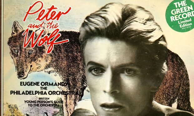 David Bowie Narrates Sergei Prokofiev's Children's Symphony Peter and the Wolf   Open Culture