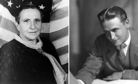 """Gertrude Stein Sends a """"Review"""" of The Great Gatsby to F. Scott Fitzgerald (1925)"""