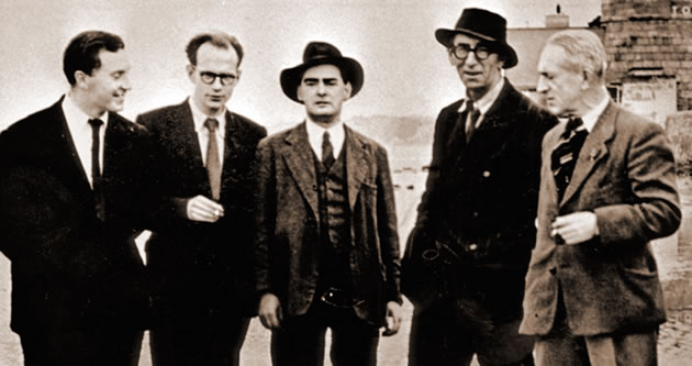 The First Bloomsday: See Dublin's Literati Celebrate James Joyce's Ulysses in Drunken Fashion (1954)