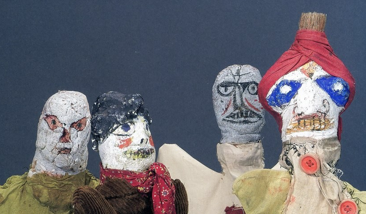 The Hand Puppets That Bauhaus Artist Paul Klee Made for His Young Son