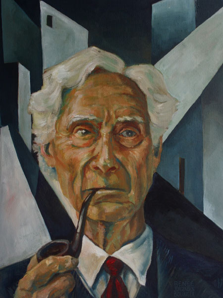 Bertrand Russell & Art Deco