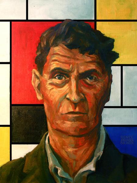 Ludwig Wittgenstein & Piet Mondrian