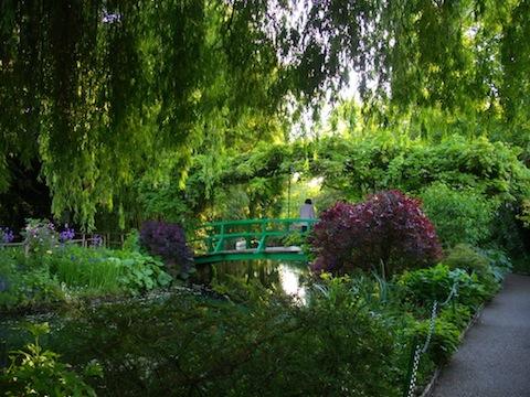 Monet's bridge-evening-may.2011