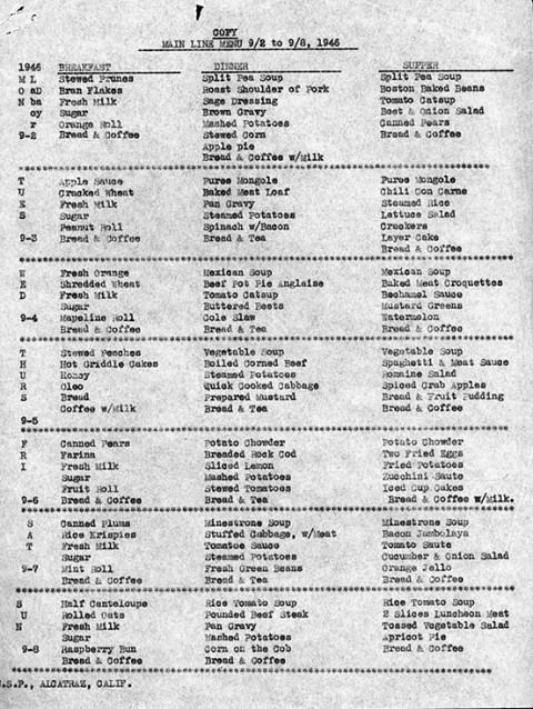 alcatraz menu