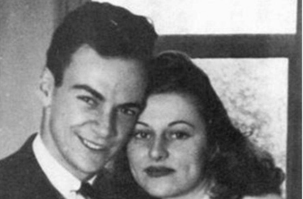 feynman letter to wife