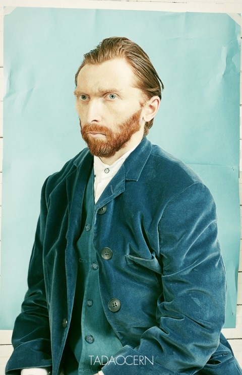 van gogh portrait photo