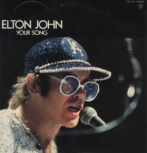 Elton john sings his classic hit your song through the years open