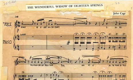 Hear Joey Ramone Sing a Piece by John Cage Adapted from James Joyce's Finnegans Wake