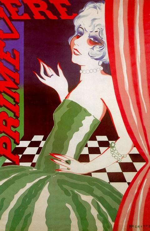 Magritte 4 Primevere