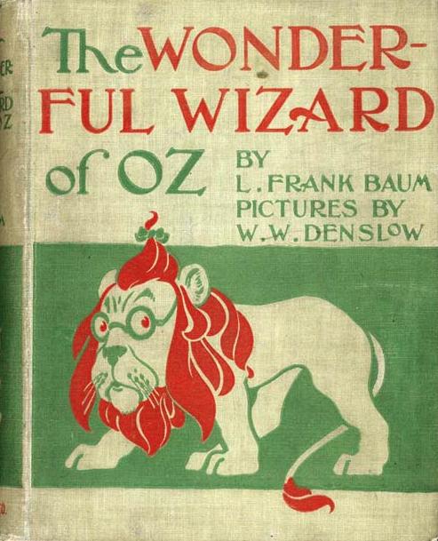 wizard of oz original cover