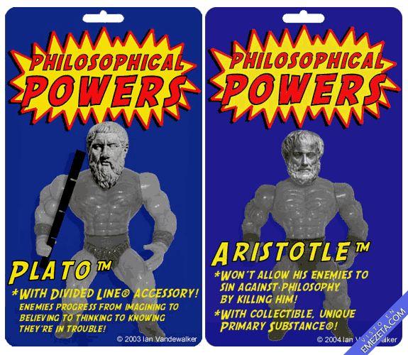 Famous Philosophers Imagined as Action Figures: Plunderous Plato, Dangerous Descartes & More