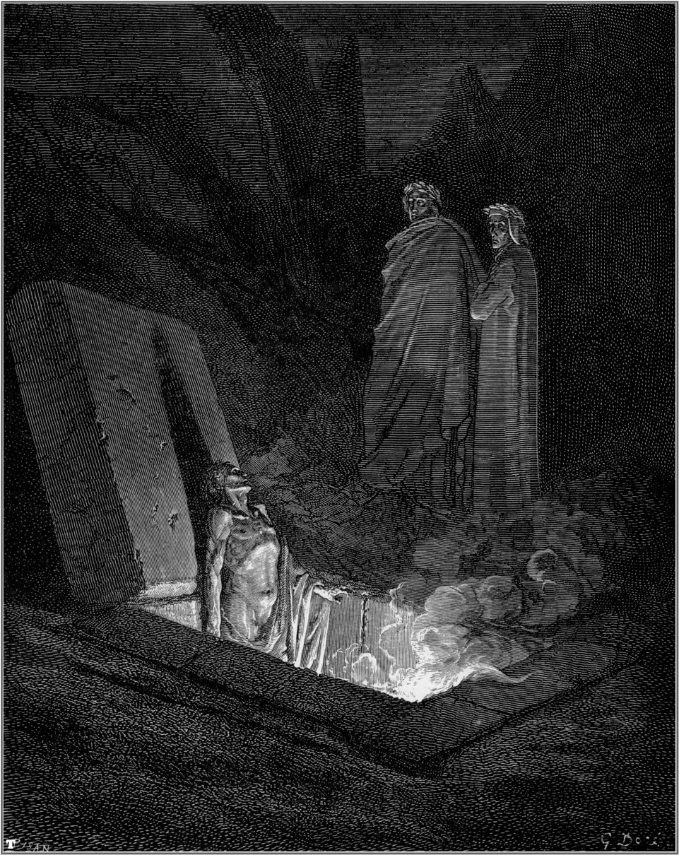 Gustave Dore S Dramatic Illustrations Of Dante S Divine