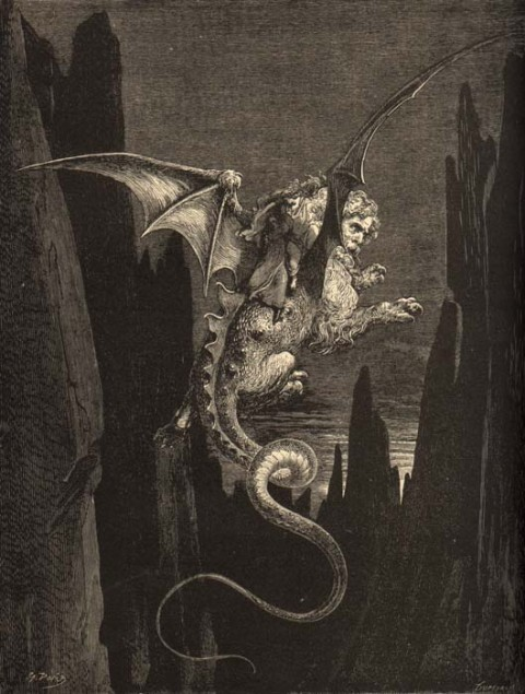 2:Gustave Dore Geryon