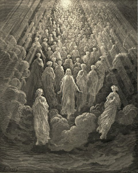 7: Gustave Dore glowing souls